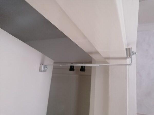 Kierr Click 200 Aluminium doorstop for a gap of 5-10 cm