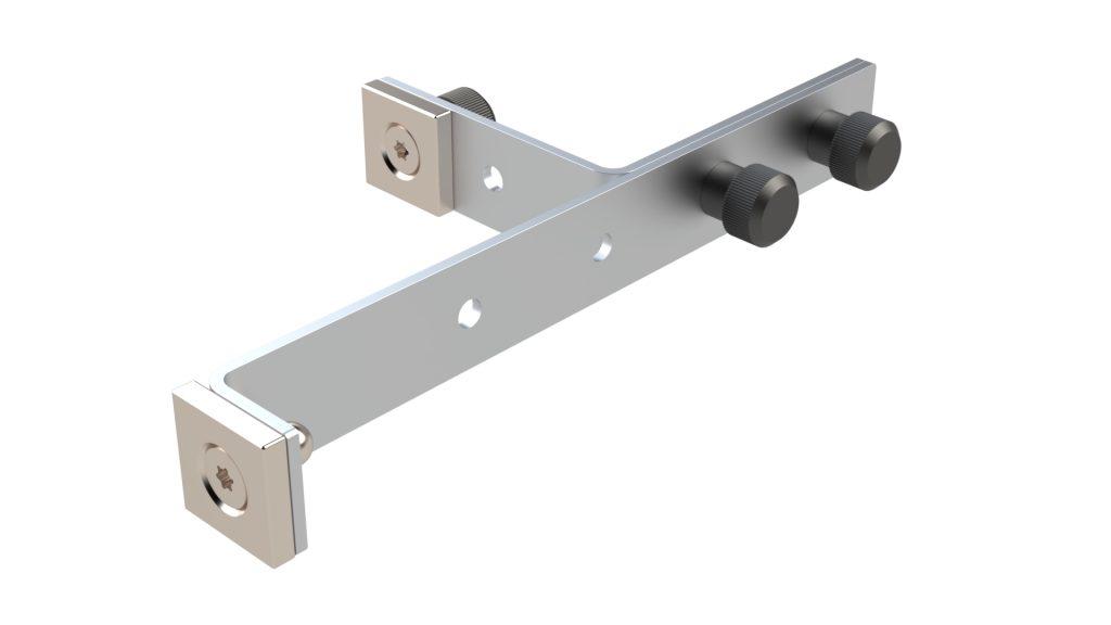 Kierr Click 100 zonder boren en schroeven raamuitzetter tevens geschikt om kiepstand te verkleinen.