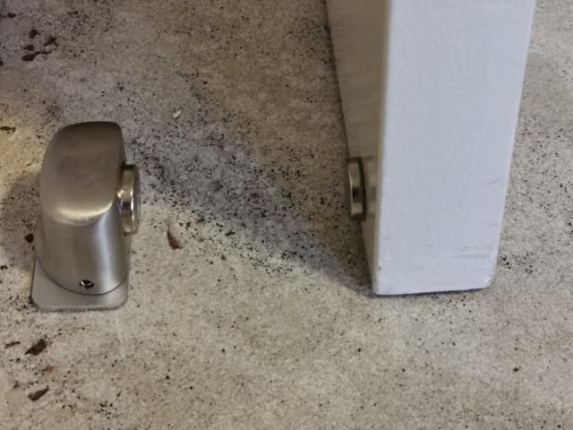 Kierr Stop 100 deurstopper met magneet voor deur